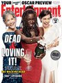 Entertainment Weekly Cover:  Dead and Loving It! -  Melissa McBride, Danai Gurira and Lauren Cohan - the-walking-dead photo