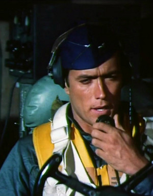 Escapade in Japan 1957 (Clint Eastwood as a pilot -uncredited)