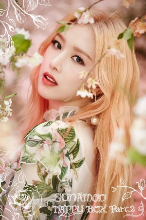 "Euijin teaser image for ""Happy Box Part.2"""
