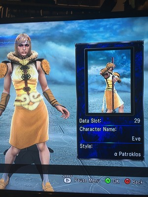 Eve in Soul Calibur 5