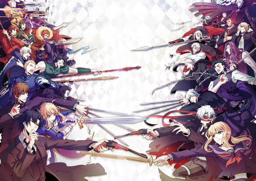 Fate Series kertas dinding titled FATE