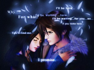 Final ndoto VIII Squall AND Rinoa