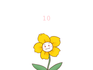 FlowerFell!Flowey the цветок