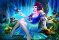 Forest Nights - Snow White - disney-princess fan art
