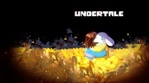 Frisk and Asriel Hugging