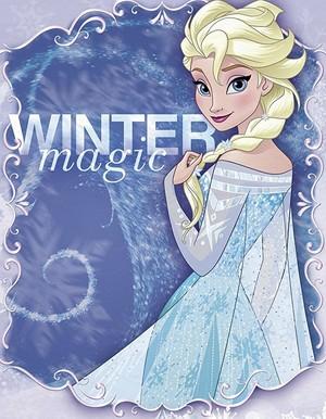 Nữ hoàng băng giá - Elsa