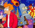 Futurama cast - futurama wallpaper