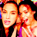 Gal Gadot and Michelle Rodriguez - gal-gadot icon