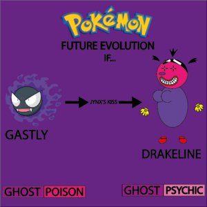 Gastly's Future Evolution In 8°Generation