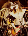 Gene and Ace (NYC) December 14, 1977 (Madison Square Garden) - kiss photo