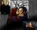 Ginny Weasley and Amycus Carrow - harry-potter fan art