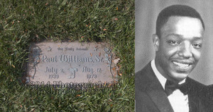 Gravesite Of Paul Williams