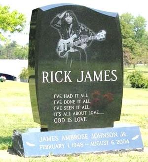 Gravesite Of Rick James