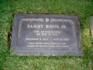 Gravesite Of Sammy Davis, Jr.