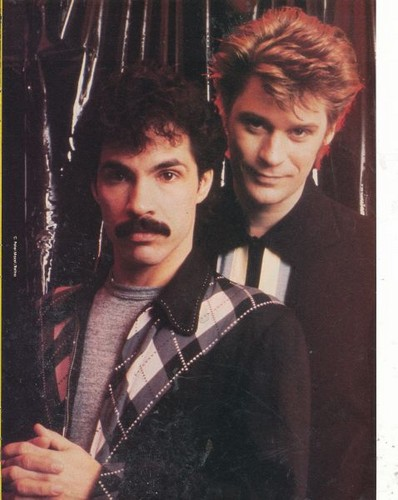 80's music wallpaper titled Hall And Oates