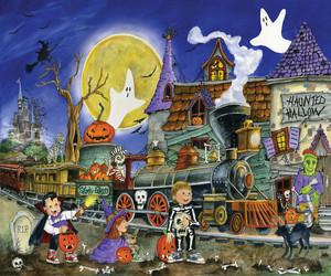 हैलोवीन Scenes