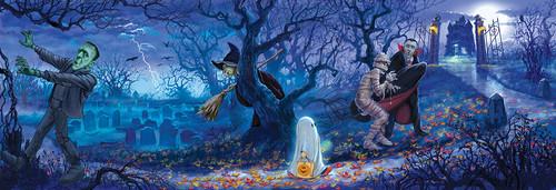Halloween afbeeldingen Halloween Scenes achtergrond and background ...