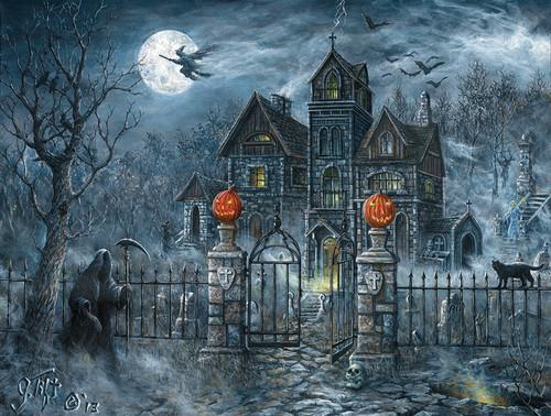 Halloween images Halloween Scenes HD wallpaper and background ...