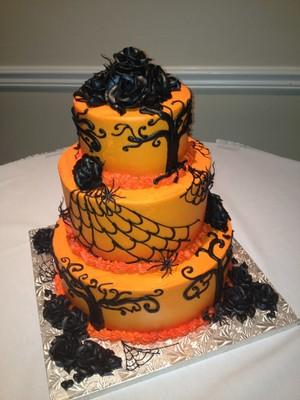 Dia das bruxas cakes