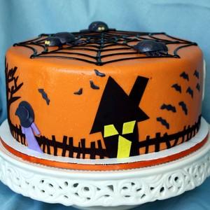 할로윈 cakes