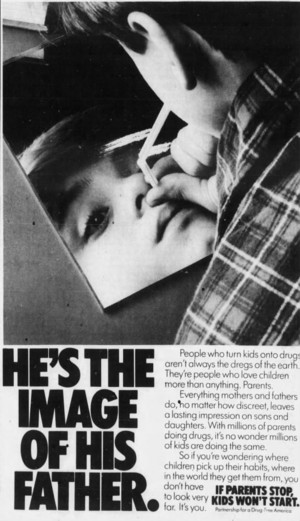 He's the Image of his father ad (1987)