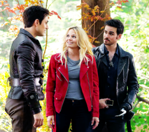 Hook, Emma and Henry