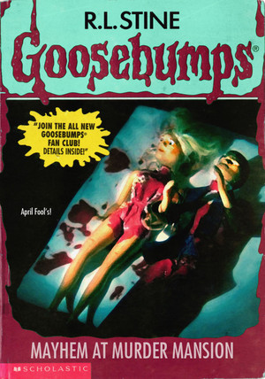 Horror as goosebumps Covers - April Fool's dia