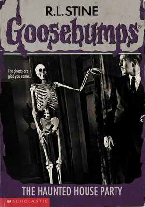 Horror as Goosebumps Covers - House on Haunted Hill