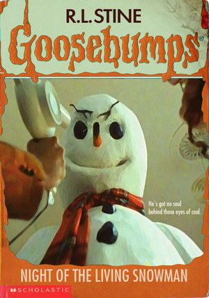 Horror as goosebumps Covers - Jack Frost