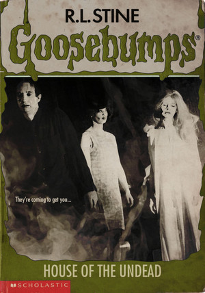 Horror as goosebumps Covers - Night of the Living Dead