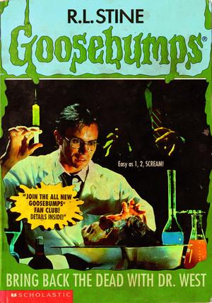Horror as Goosebumps Covers - Re-Animator