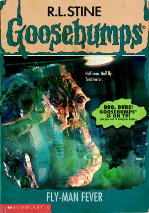 Horror as goosebumps Covers - The Fly