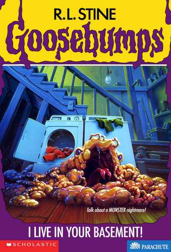 Goosebumps kertas dinding called I Live in Your Basement!