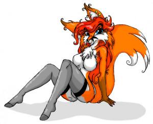 I'm one hot fox!
