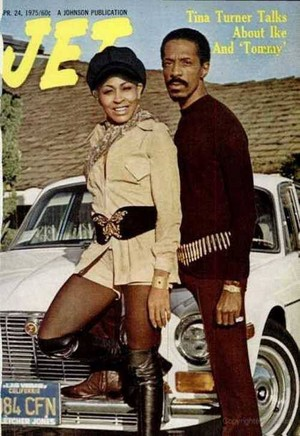 Ike And Tina Turner On The Cover Of Jet