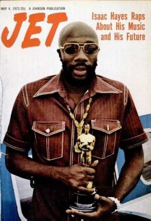 Isaac Hayes On The Cover Of Jet