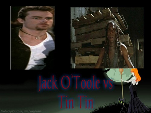 Crossover Fanfiction wallpaper titled Jack O'Toole vs Tin Tin