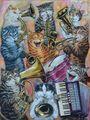 Jam Session  - cats fan art