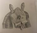 Jar Jar Binks - star-wars-characters fan art