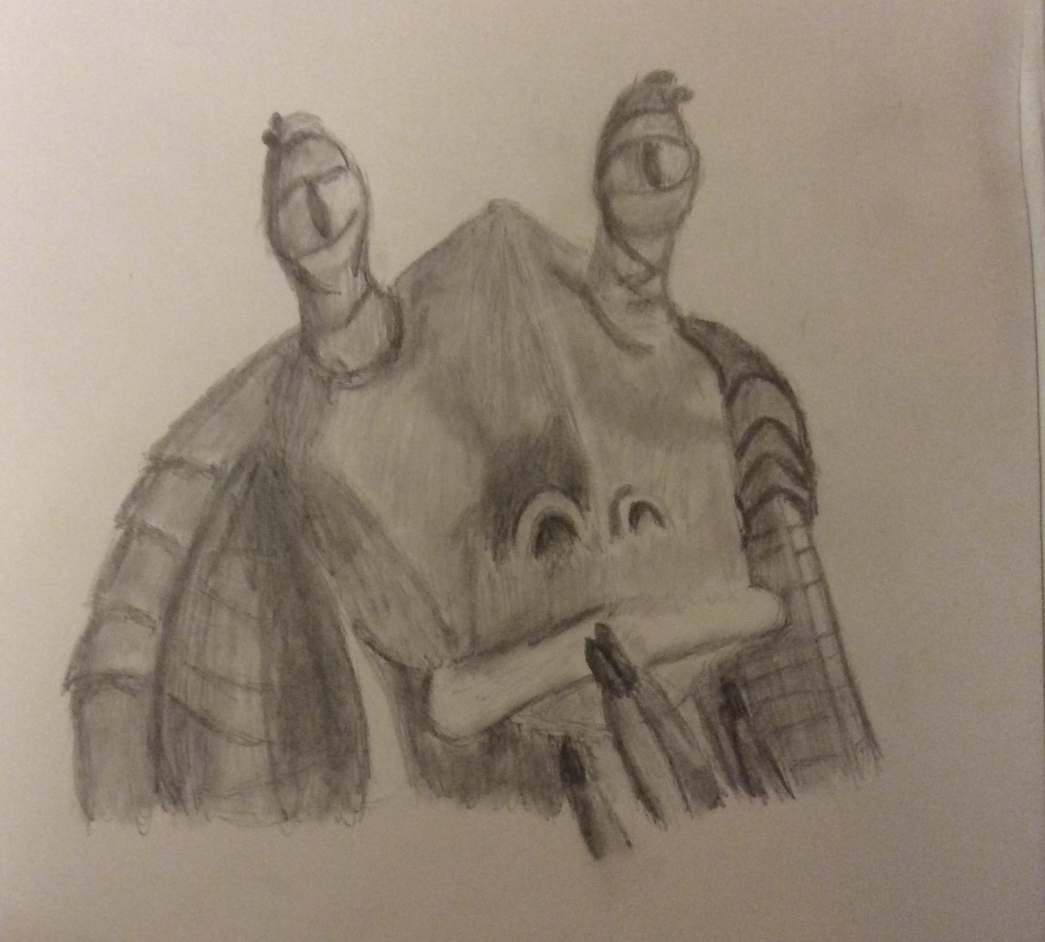 Jar Jar Binks Star Wars Characters Fan Art 40729637 Fanpop