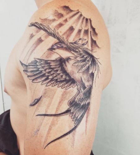 ジェンセン・アクレス 壁紙 entitled Jensen's first tattoo