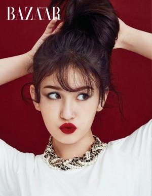 Jeon Somi for Harper's Bazaar Magazine November Issue