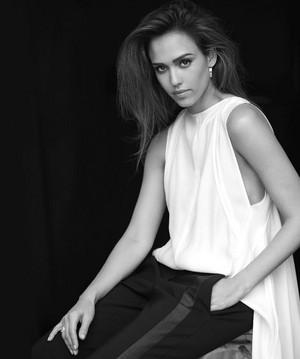Jessica for Harper's Bazaar (2017)