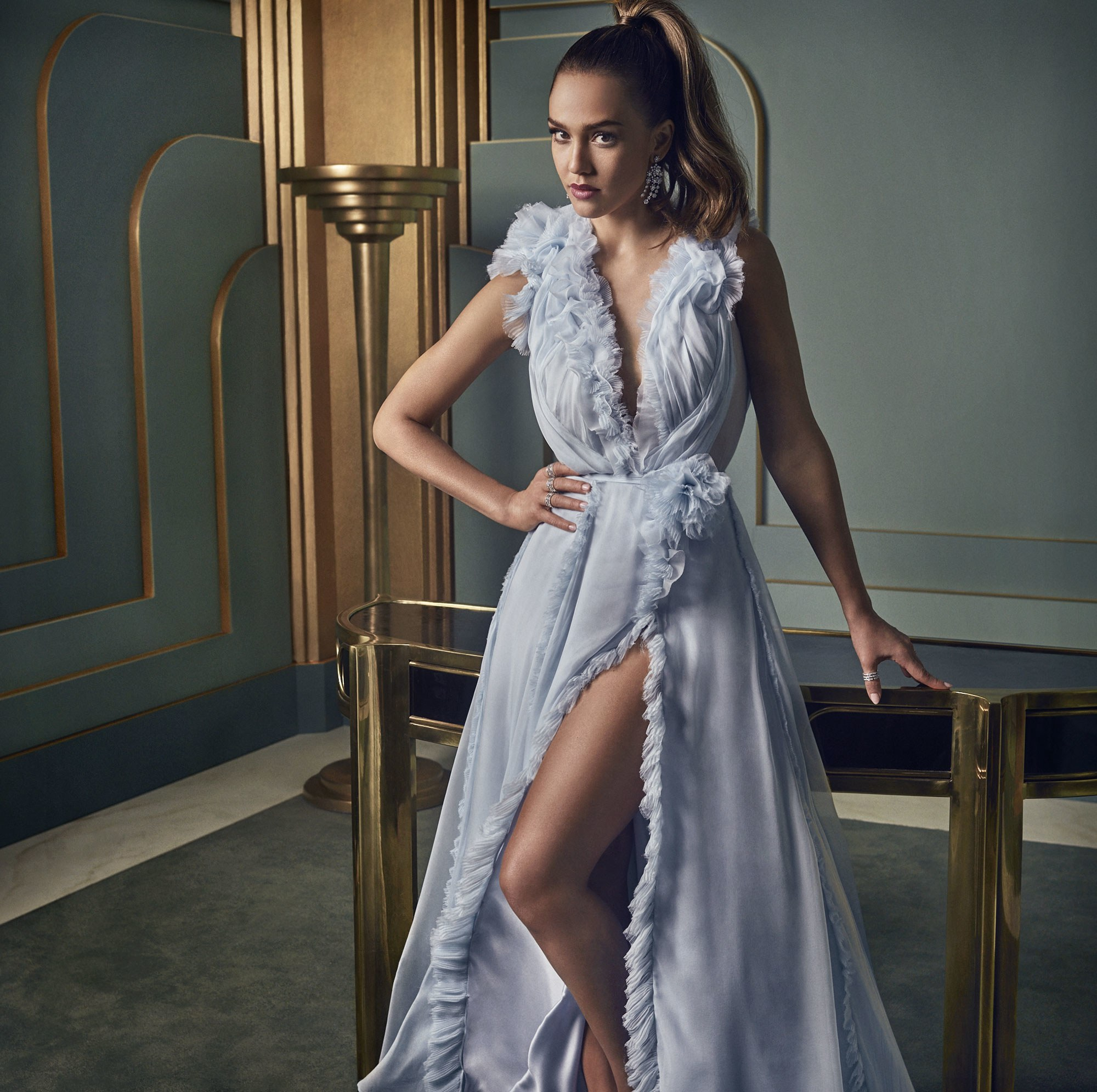 Jessica for Vanity Fair (2017)