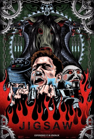 Jigsaw (2017) IMAX Poster