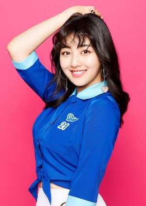 Jihyo's teaser images for 'One plus Time'