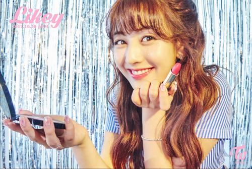 "Twice (JYP Ent) wallpaper called Jihyo teaser image for ""Likey"""