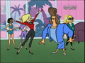 Johnny Bravo and Norma