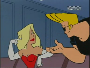 Johnny Bravo and the Girl of His Dreams at the film