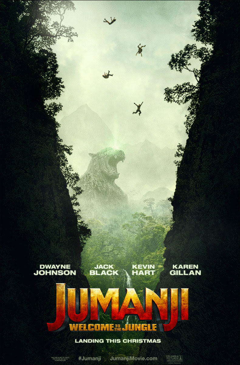 Jumanji: Welcome to the Jungle (2017) Poster